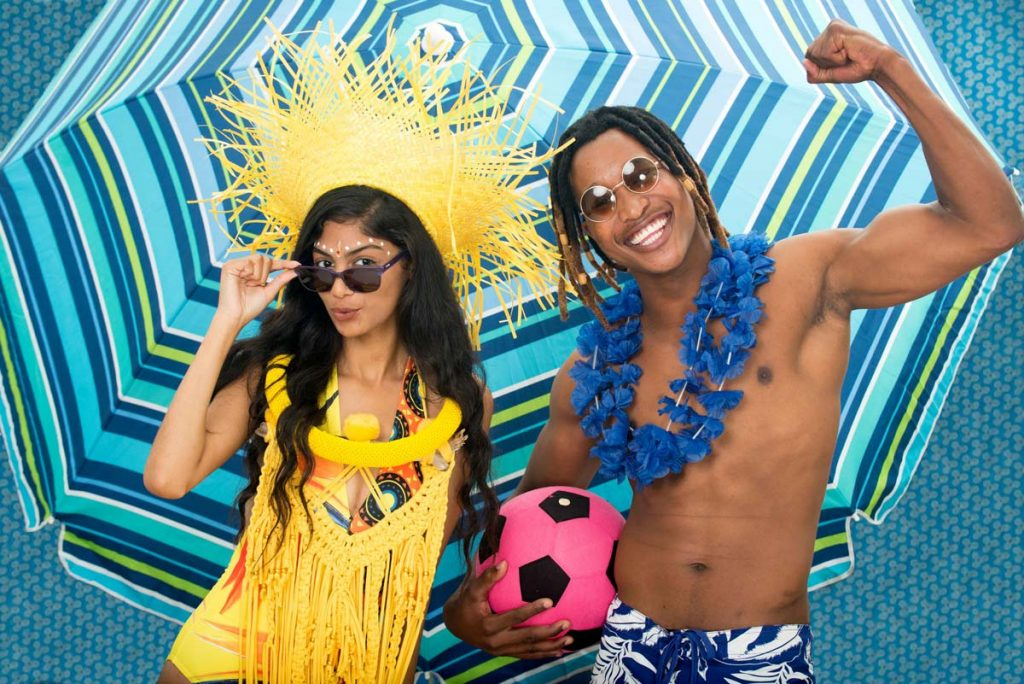 FEATURED IMAGE: Charys–Mari Botha and Lawrence Zvavanhu are looking forward to the Umhlanga Summer Festival. Picture: Val Adamson